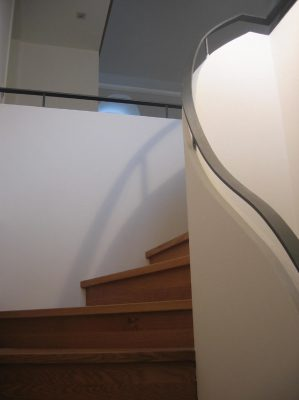 moderner Treppenaufgang