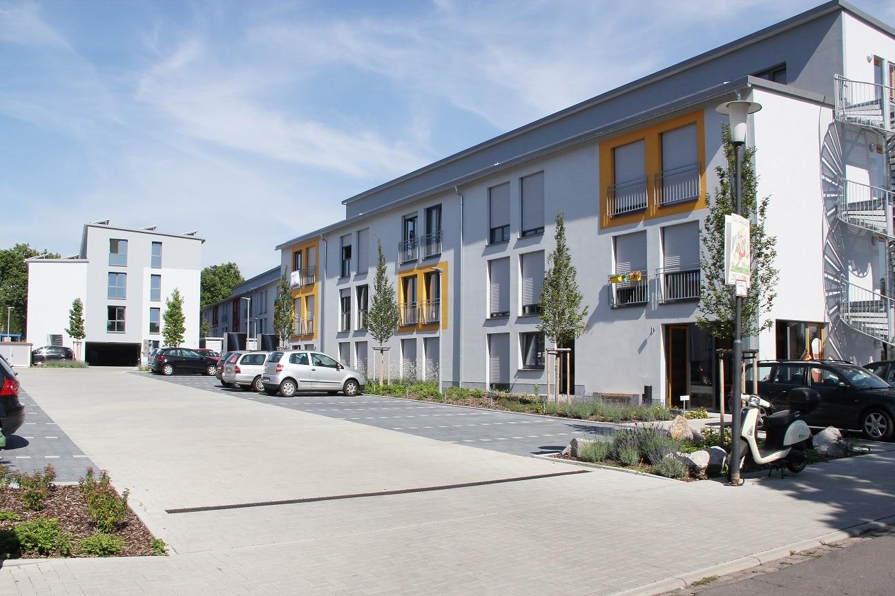 Modernes Studentenwohnheim